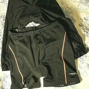 Lot of 2 Pieces Canari & Trail Bicycle Shorts Padd